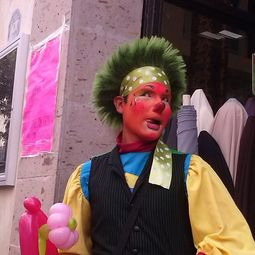 payaso chatolyn,zanqueros
