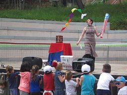 Payaso para fiestas infantiles