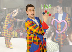 Clown Zauberer LIAR