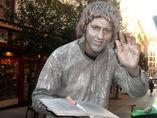 Estatua humana EL ESCRITOR foto 1