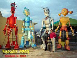 Pasacalles Robots
