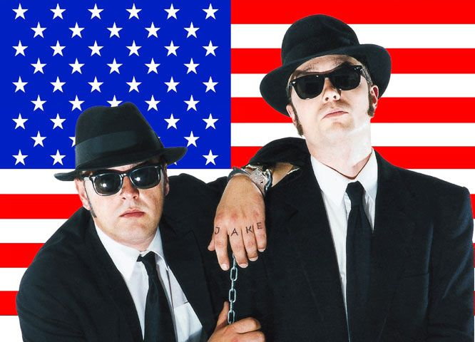 blues brothers actionshow 0