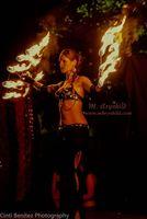 Danza del vientre/Performance Fuego/Luz/Bodypaint