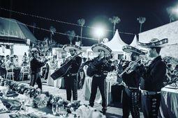 Mariachis en Valencia , Quinteto Banda.