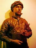 Estatua humana EL ESCRITOR foto 2