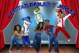 Canta juegos Show musical baile dirigido.