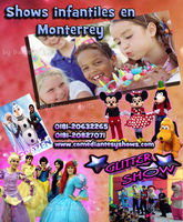 Shows infantiles en Monterrey
