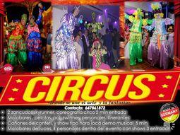 show de circo  para eventos pr