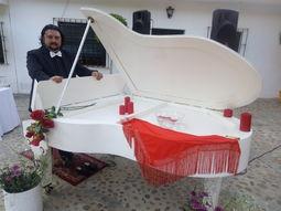 Pianista para eventos, bodas, banquetes, recepcion
