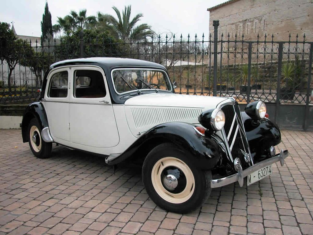 coches de epoca citroen 11b 1