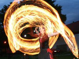 Feuershow Ambrosia van Serpens