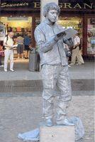 Mimo-Estatua Humana ESCRITOR