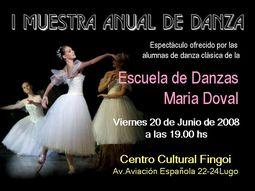 I Muestra Anual de Danza