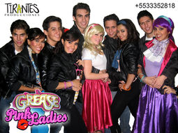 Show GREASE / VASELINA Musical