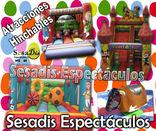 parques infantiles, hinchables foto 2