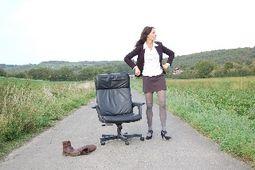 Stephanie König - Büronomadin und Tippse de Luxe