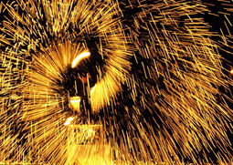 Flambal Olek Feuershow Bremen