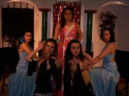 Grupo de baile flamenco al-andalus