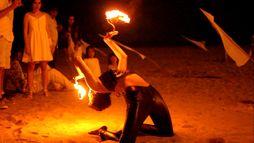 Fuego, Danza, Mágia Visual