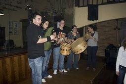 Grileiros, música tradicional