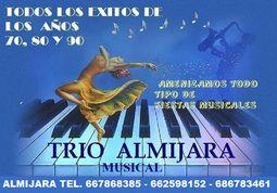 TRIO ALMIJARA SHOOW