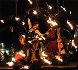 Flambal Olek Feuershow Bremen foto 1