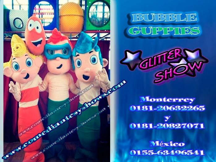 show bubble guppies mty 0