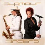 Sängerin mit Saxophon foto 2