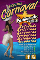 Shows para eventos de Carnaval