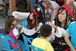 Animadoras infantiles Piratas Party