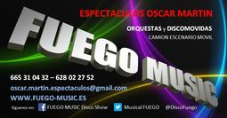 FUEGO MUSIC Disco Show