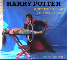 MAGO ILUSIONISTA HARRY  POTTER
