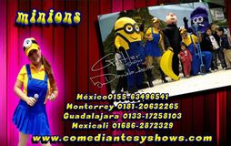 shows de minions mérida