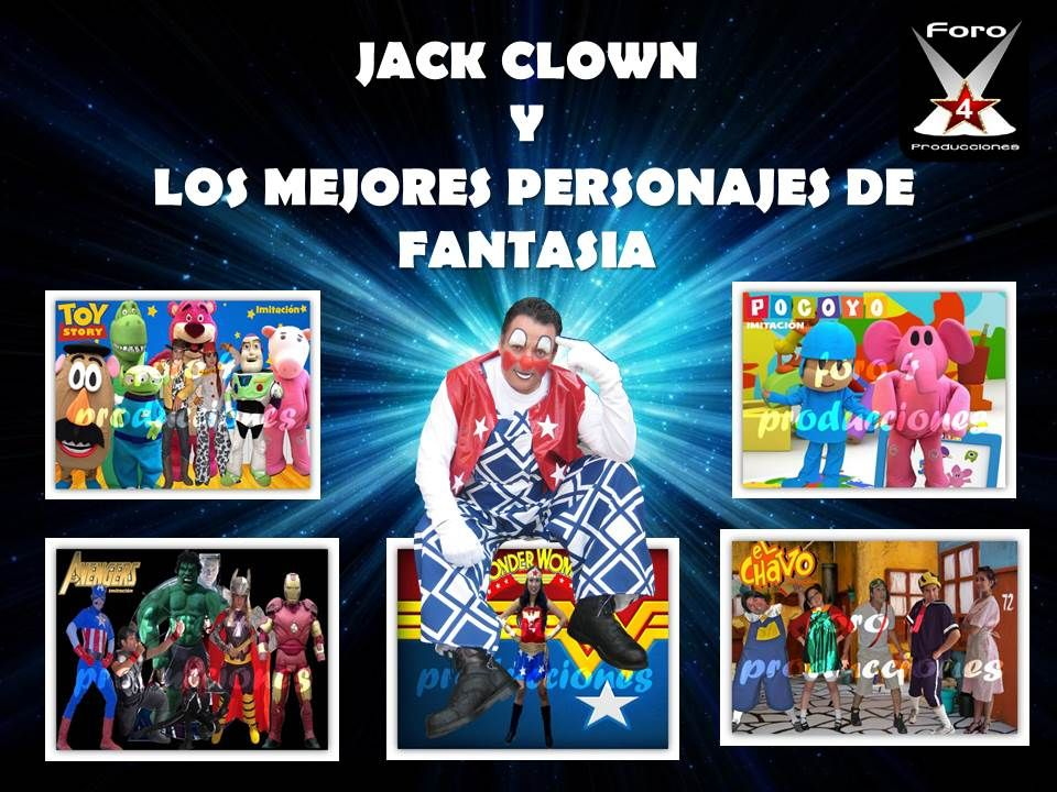 jack clown un payaso diferente 0
