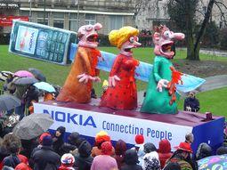 Wagen Karnevalsumzüge