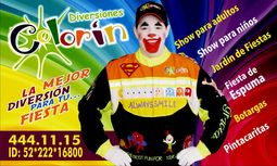 Payaso Colorin Diversiones