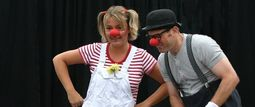 Clown Duo Zöpfchen Bippo_0