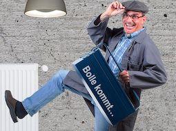 Büttenredner Hausmeister Bolle