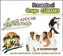 Grupo Cubano versatil Azucar Latina _0