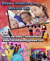 shows infantiles mexicali