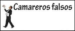 Camareros falsos en Córdoba