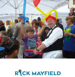 Ballonkünstler, Luftballontiere, Walk-Act foto 1