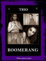 trio boomerang