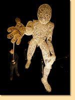 DUNDU - große bewegliche Marionette