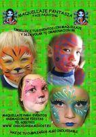 maquillaje fantasia para niños !!!!!