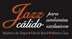 Jazz elegante de violín, guitarra y voz