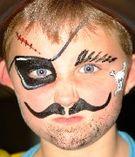 maquillaje fantasia para niños !!!!! foto 1