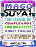 DIVERTIDO SHOW MAGO EN MADRID PARA FIESTAS INFANTI foto 1